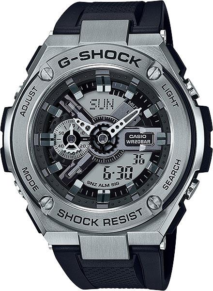 Мужские часы Casio GST-410-1A casio gst 200rbg 1a