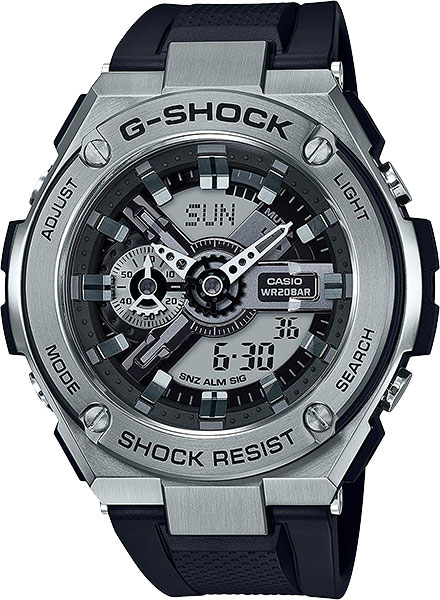 Мужские часы Casio GST-410-1A casio gst w130l 1a