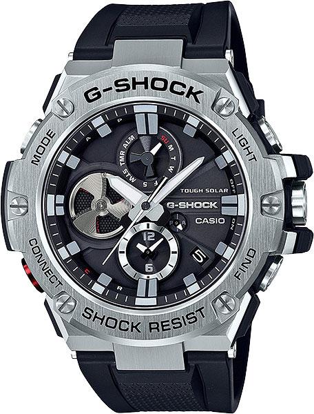 Мужские часы Casio GST-B100-1A casio gst w130l 1a