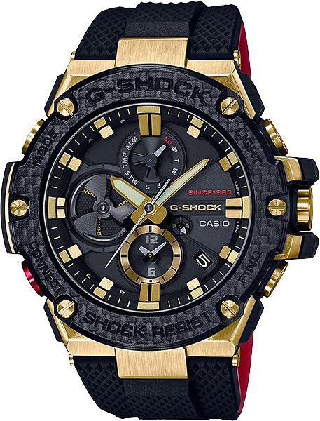 где купить Мужские часы Casio GST-B100TFB-1A по лучшей цене