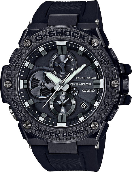 Мужские часы Casio GST-B100X-1A casio gst 200rbg 1a