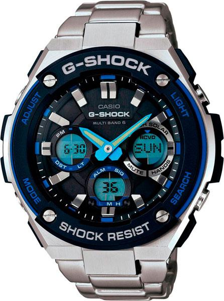 Мужские часы Casio GST-W100D-1A2 casio gst w110bd 1a2 casio