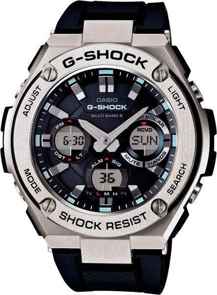 Мужские часы Casio GST-W110-1A casio gst 200rbg 1a