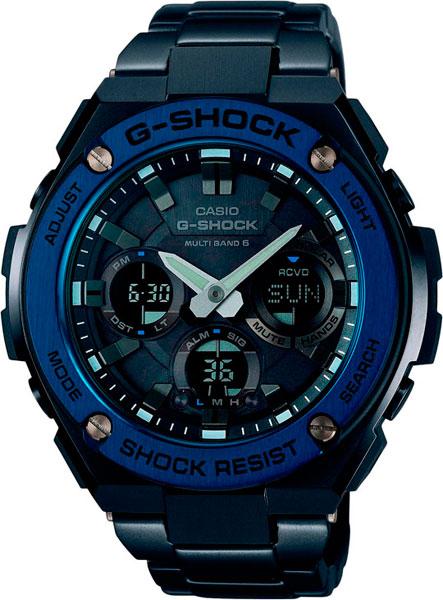 Мужские часы Casio GST-W110BD-1A2 casio gst w110bd 1a2 casio
