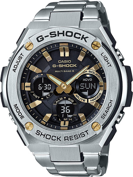 Мужские часы Casio GST-W110D-1A9 цена и фото
