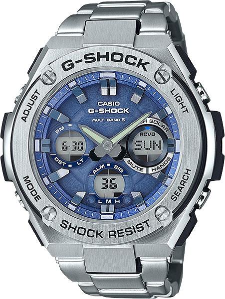 Мужские часы Casio GST-W110D-2A casio gst w130bc 1a3