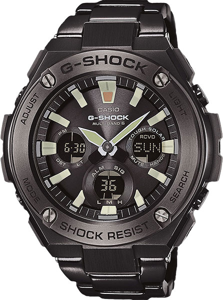 Мужские часы Casio GST-W130BD-1A цена и фото