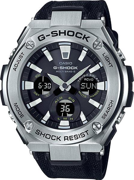 Мужские часы Casio GST-W130C-1A casio gst 200rbg 1a
