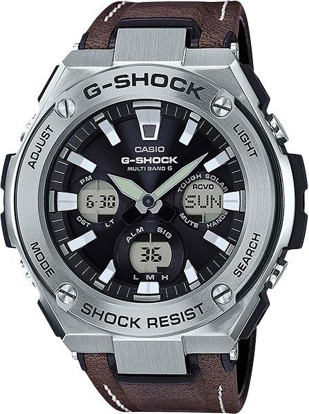 Мужские часы Casio GST-W130L-1A casio gst 200rbg 1a