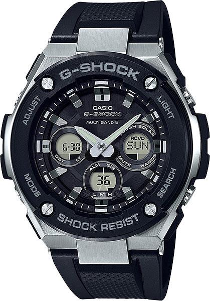 Мужские часы Casio GST-W300-1A casio gst 200rbg 1a