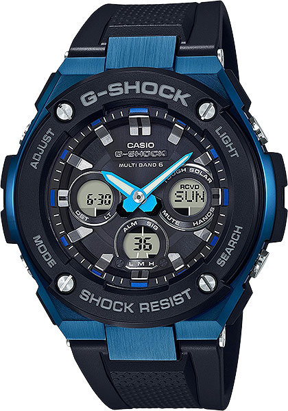 Мужские часы Casio GST-W300G-1A2 casio gst w300g 1a2