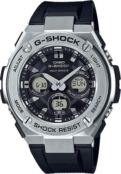 Мужские часы Casio GST-W310-1A цена в Москве и Питере