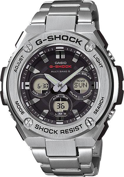 Мужские часы Casio GST-W310D-1A casio gst w130l 1a