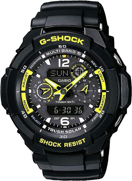 Мужские часы Casio GW-3500B-1A часы casio gw m5610 1e