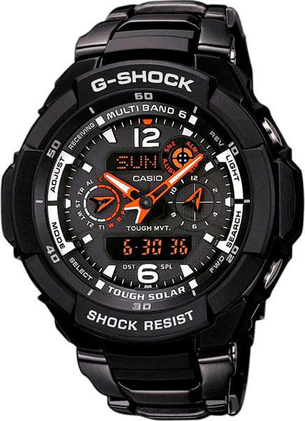 Мужские часы Casio GW-3500BD-1A часы casio gw m5610 1e
