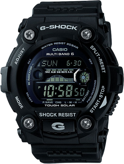 Мужские часы Casio GW-7900B-1E casio gw m5610bb 1e
