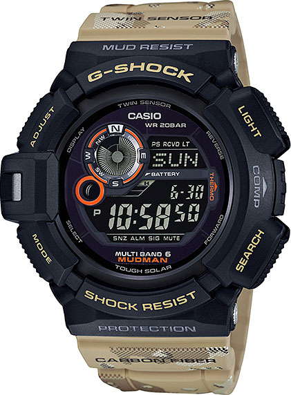 Мужские часы Casio GW-9300DC-1E мужские часы casio gw 9200 1e g shock