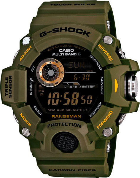 Мужские часы Casio GW-9400-3E
