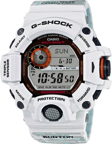 Мужские часы Casio GW-9400BTJ-8E casio g shock gw 9400 1e