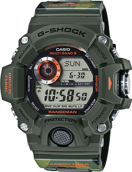 Мужские часы Casio GW-9400CMJ-3E casio g shock gw 9400 1e