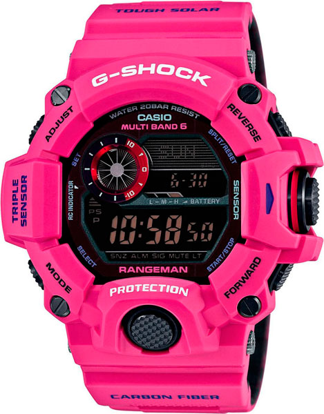 Мужские часы Casio GW-9400SRJ-4E casio часы casio gw 9400srj 4e коллекция g shock