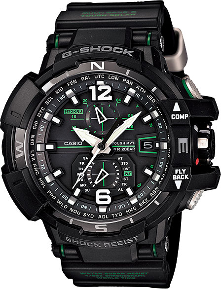 Мужские часы Casio GW-A1100-1A3 цена