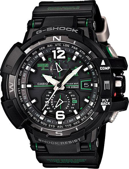 Мужские часы Casio GW-A1100-1A3 casio gst w130bc 1a3