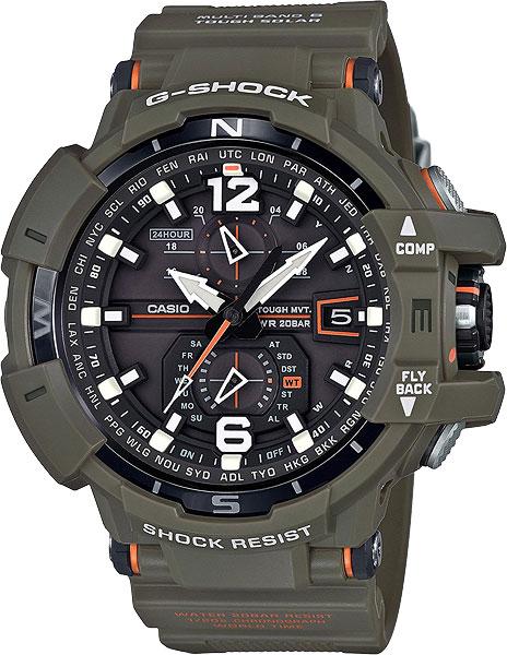 Мужские часы Casio GW-A1100KH-3A мужские часы casio gw 9400srj 4e