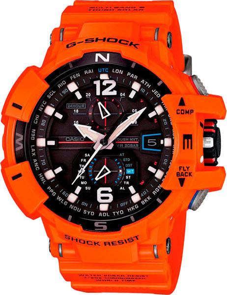 Мужские часы Casio GW-A1100R-4A мужские часы casio gw 9400srj 4e