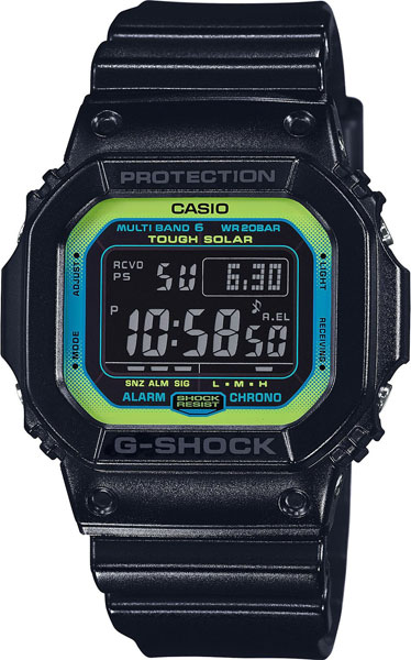 Мужские часы Casio GW-M5610LY-1E casio gw m5610bb 1e
