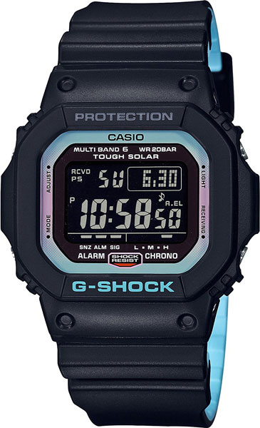 Мужские часы Casio GW-M5610PC-1E casio gw m5610bb 1e