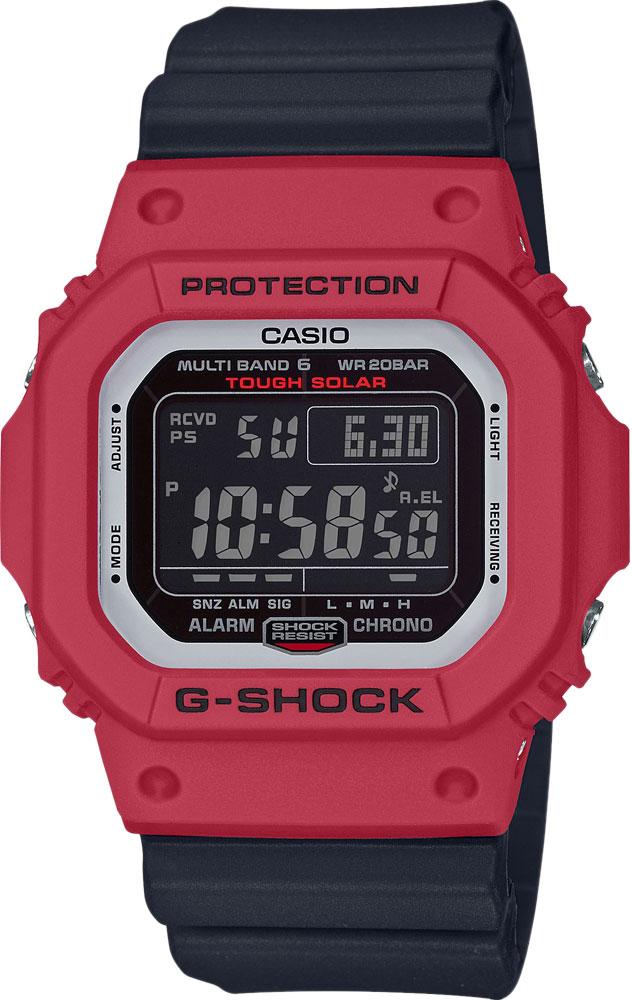 Мужские часы Casio GW-M5610RB-4ER мужские часы casio gw 9400 3e