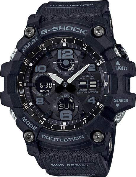 Японские мужские часы в коллекции G-SHOCK Мужские часы Casio GWG-100-1A фото