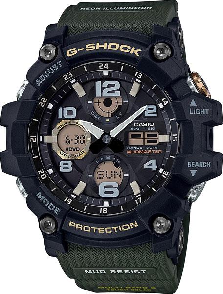 Мужские часы Casio GWG-100-1A3 gwg 1000 1a3