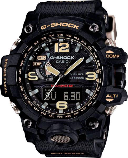 Мужские часы Casio GWG-1000-1A casio gwg 1000gb 1a casio