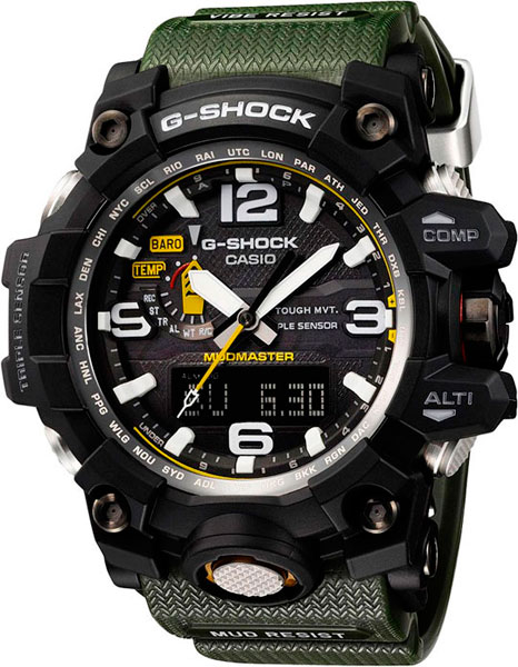 Мужские часы Casio GWG-1000-1A3 gwg 1000 1a3