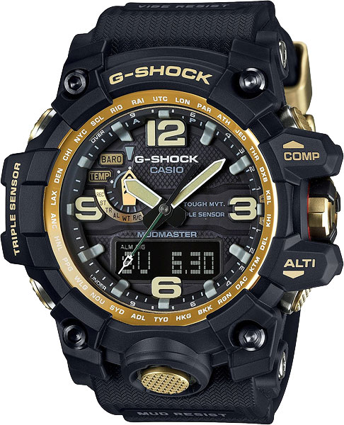 Мужские часы Casio GWG-1000GB-1A casio gwg 1000gb 1a casio