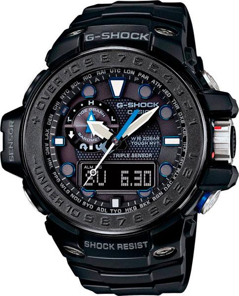 Мужские часы Casio GWN-1000C-1A часы casio g shock gulfmaster gwn 1000b 1b black navy