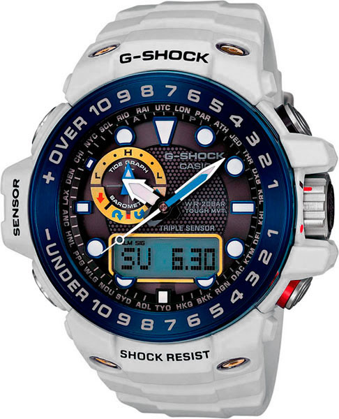 Мужские часы Casio GWN-1000E-8A casio g shock gulfmaster tough mvt multi band 6 gwn 1000e 8ajf men s japan model