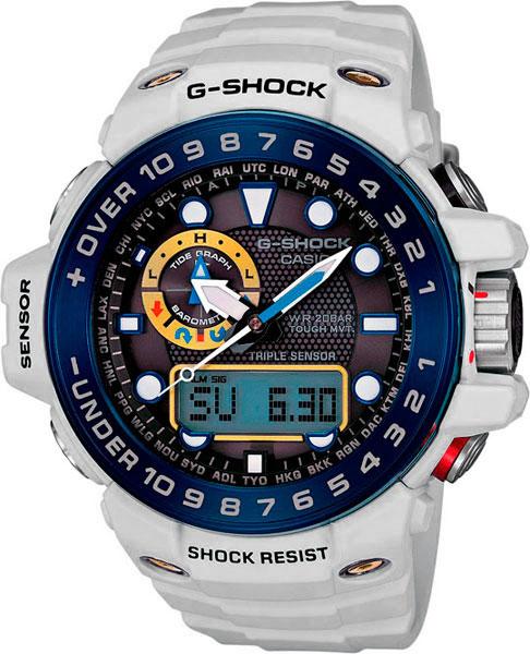 Мужские часы Casio GWN-1000E-8A часы casio g shock gulfmaster gwn 1000b 1b black navy