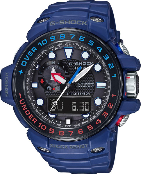 Мужские часы Casio GWN-1000H-2A casio casio gwn 1000h 2a