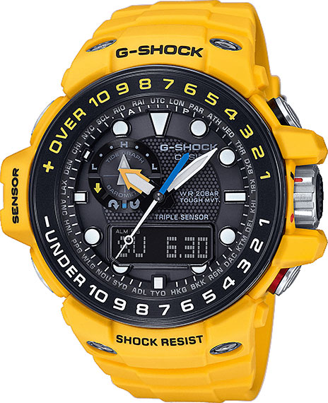 цена Мужские часы Casio GWN-1000H-9A онлайн в 2017 году