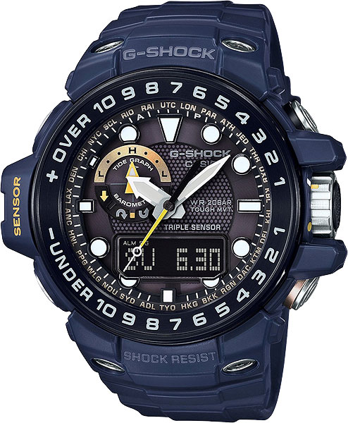Мужские часы Casio GWN-1000NV-2A цены