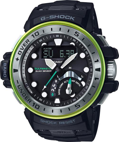 Мужские часы Casio GWN-Q1000MB-1A