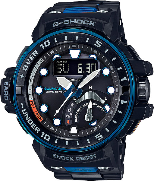Мужские часы Casio GWN-Q1000MC-1A2