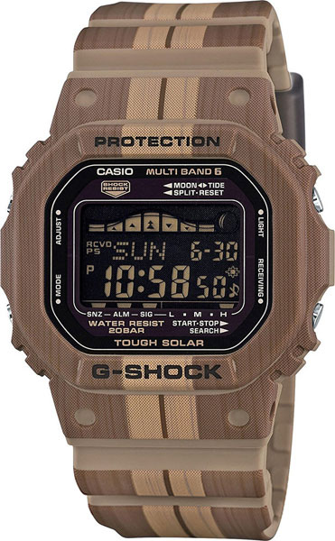 Мужские часы Casio GWX-5600WB-5E мужские часы casio gwx 8900 1e