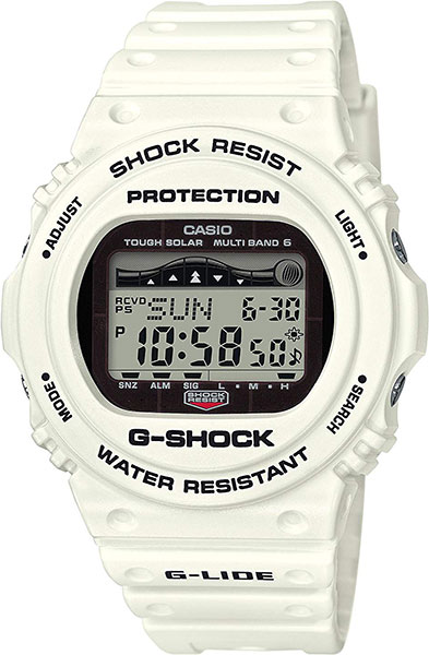 Мужские часы Casio GWX-5700CS-7E maped гуашь colorpep s 6 основных цветов