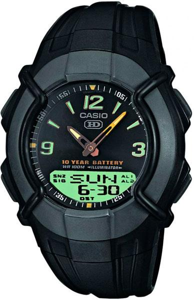 Мужские часы Casio HDC-600-1B цена и фото