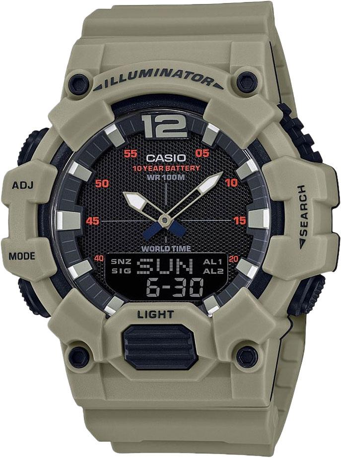 Мужские часы Casio HDC-700-3A3VEF цена и фото
