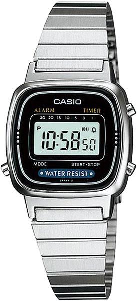 Женские часы Casio LA-670WEA-1E-ucenka цена